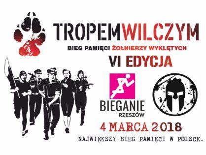 VI Bieg Tropem Wilczym w Rzeszowie 4.03.2018