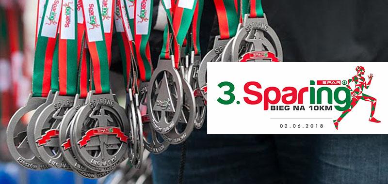3 Sparing Bieg na 10km - Rzeszów, 02.06.2018