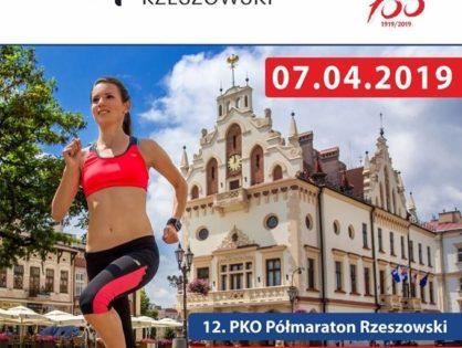 12. PKO Półmaraton Rzeszowski i Sztafeta Półmaratońska – 7.04.2019