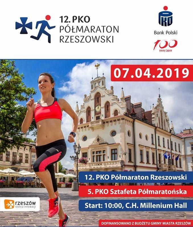 12. PKO Półmaraton Rzeszowski i Sztafeta Półmaratońska - 7.04.2019